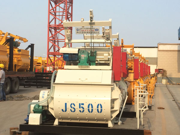 JS500 concrete mixers for sale