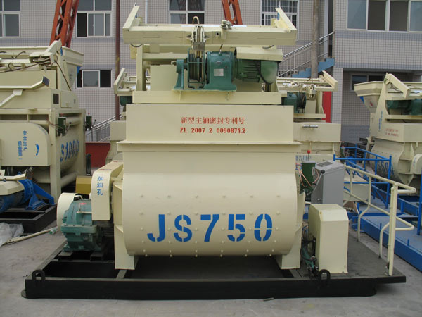 JS750 concrete mixers for sale