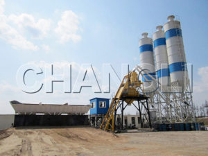 central mix concrete batch plant