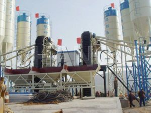 changli HZS concrete batching plant
