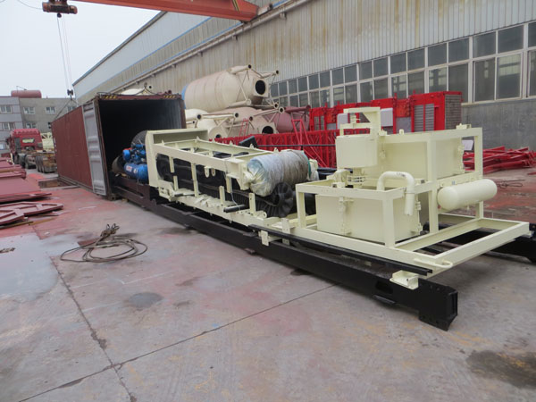 aimix AJY-35 mobile concrete plants delivery