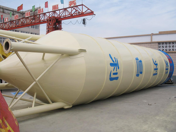 Cement Silo For Concrete Batching Plant Different Models