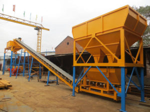 dry batch concrete plant price