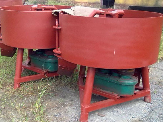pan concrete mixer for sale
