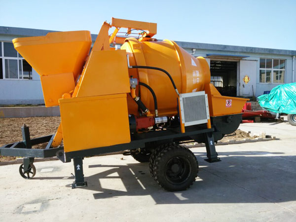 JBS electric concrete mixer pump