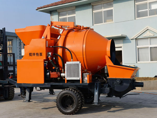 concrete mixer pump price