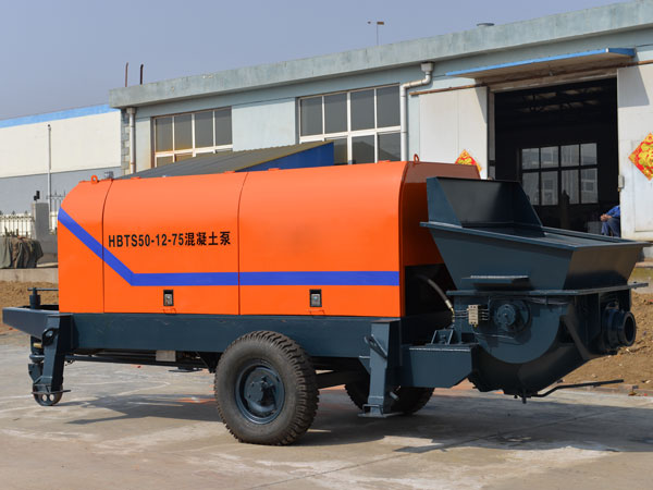 HBT elctric mini concrete pump for sale