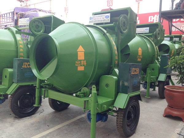 JZC electric concrete mixer for sale