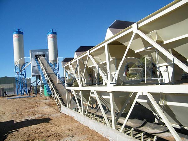 HZS concrete batching plants manufacturers