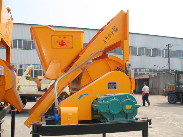 single batch concrete mixer