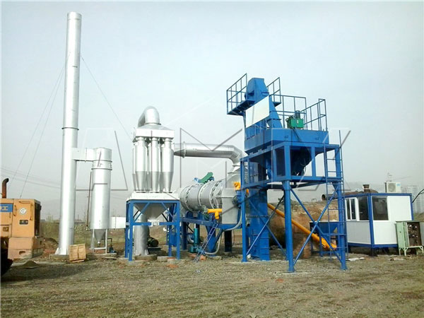 asphalt drum mix plant machine