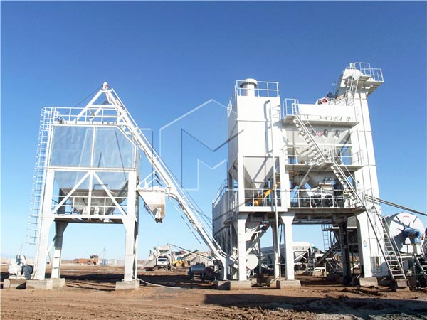 asphalt mix batch plant for sale