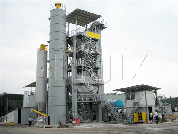 batch mix asphalt plant
