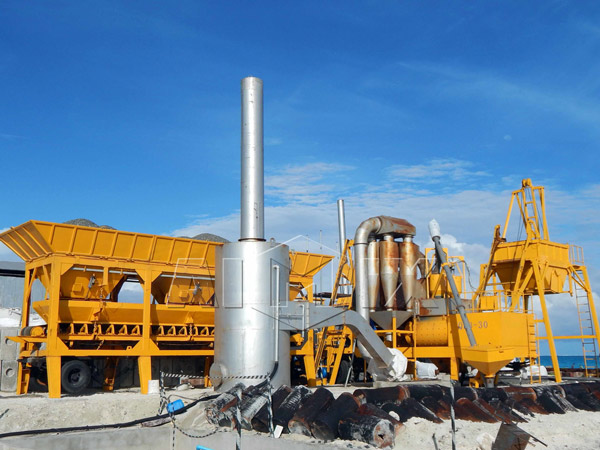 small asphalt batch plant for sale