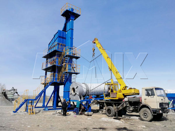 asphalt plant was exported to Pakista Pa