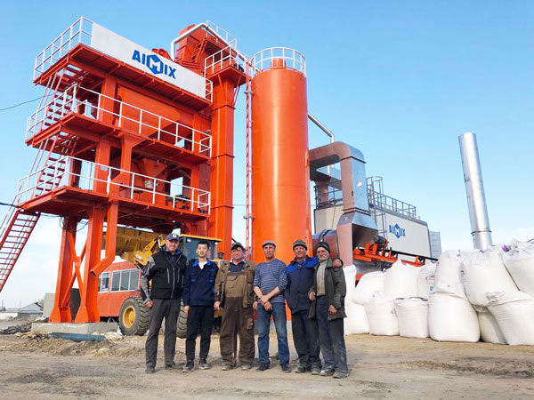 stationary asphalt mixer plant for sale