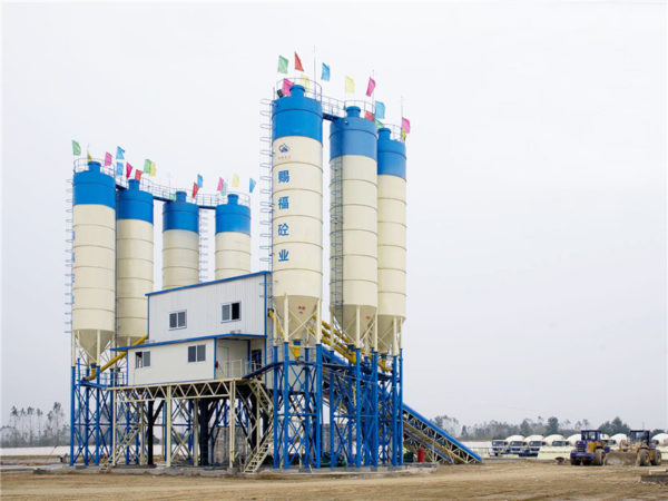 stationary concrete batch plants for sale