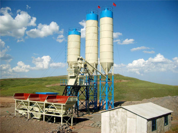 ready mix concrete batching plant for sale