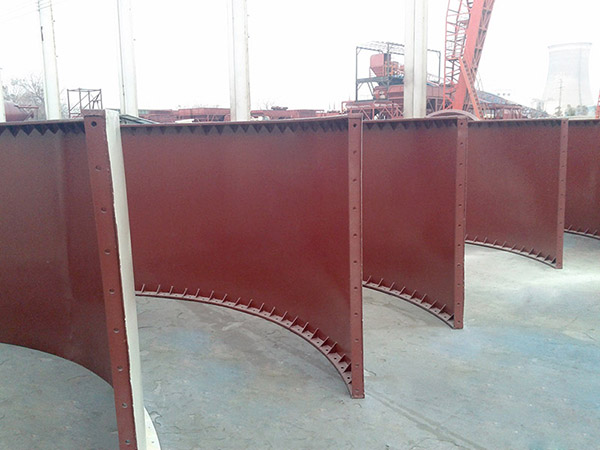 welded type cement silo