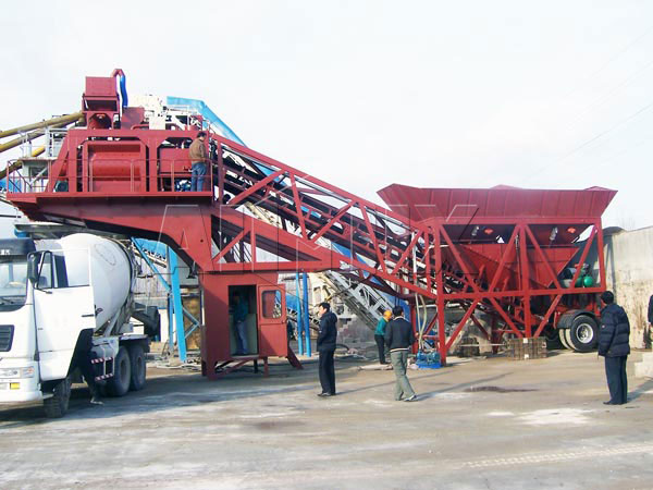 YHZS90 Ready Mix Batching Plant