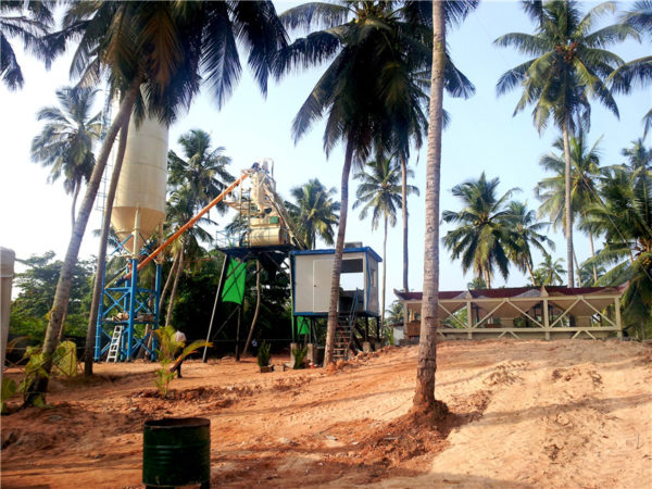 small size concrete batching plant