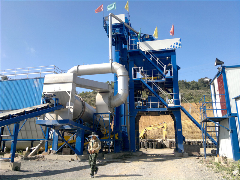 drum mixer asphalt plant for sale