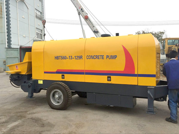 trailer concrete pumps