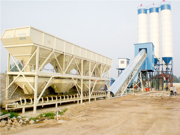 AJ-90 concrete batch plant for sale