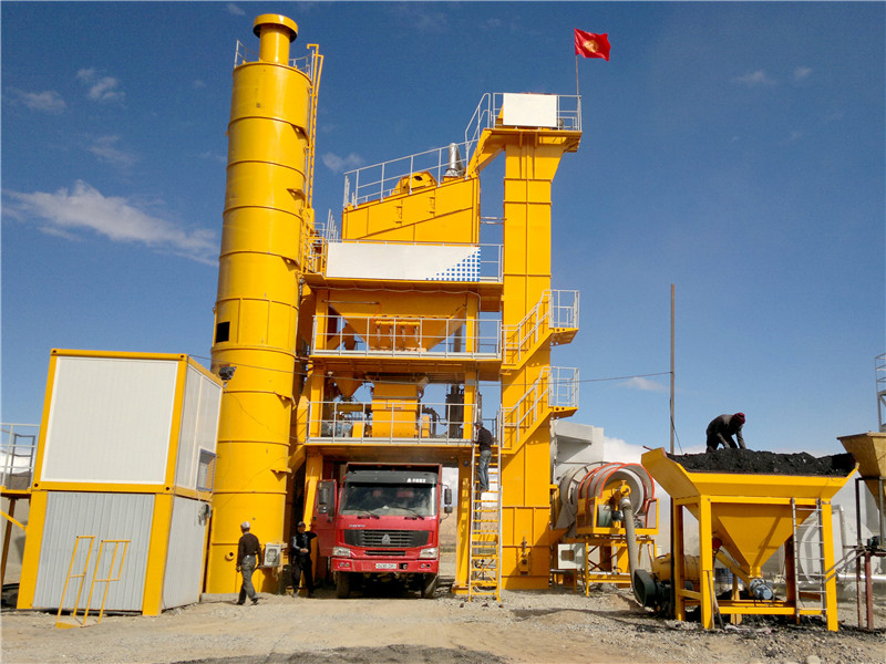 asphalt production mixing plant