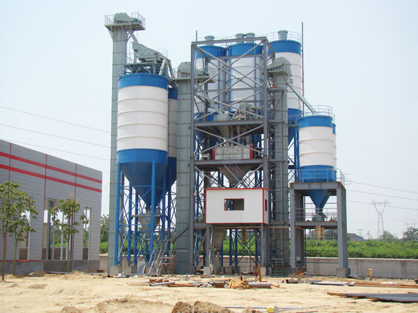 dry mix mortar production line machine