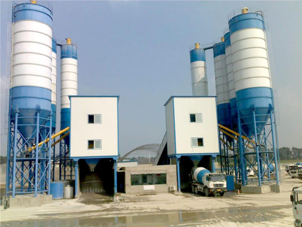 AJ-240 stationary batching plant