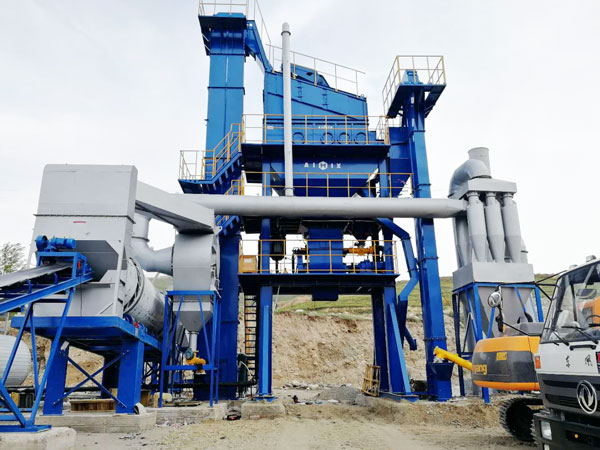 stationary asphalt batching plant
