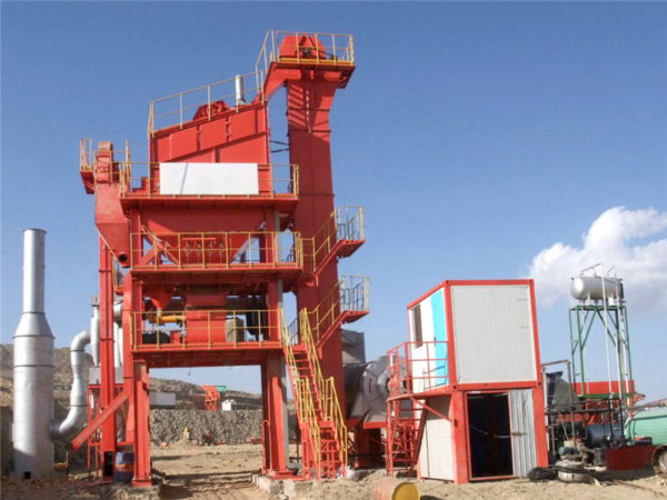 batch mix type asphalt plant