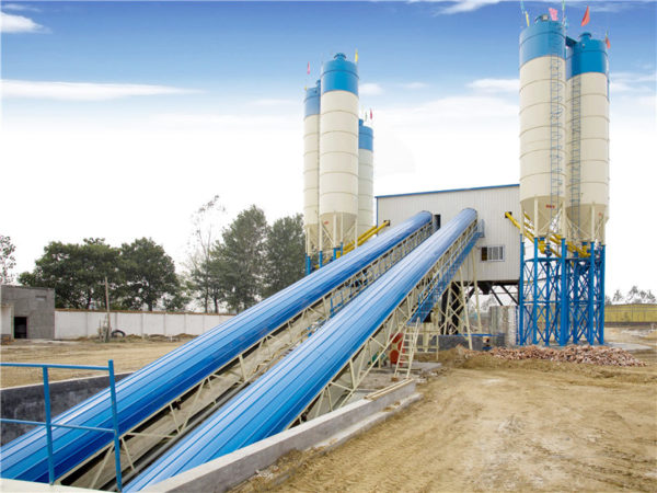 ready mix cement mixing plant