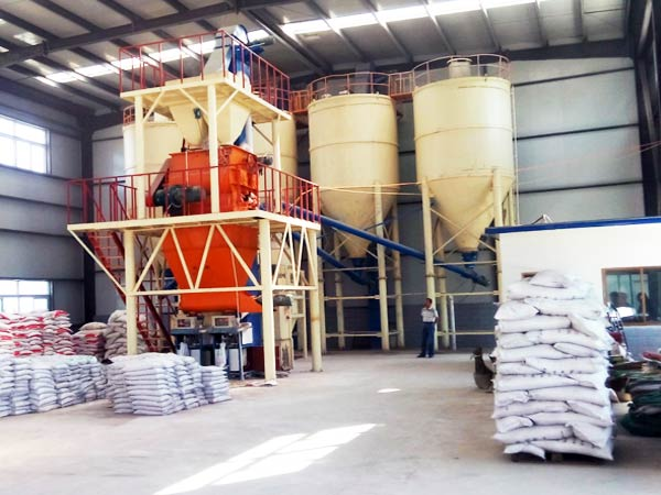 tile adhesive mixing plant for sale