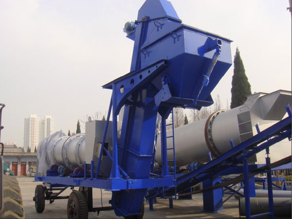 mobile drum mix plant for sale