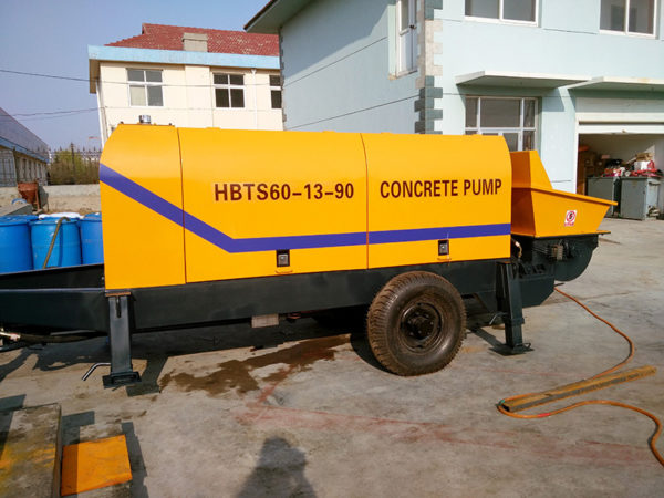 cement pump trailer for sale