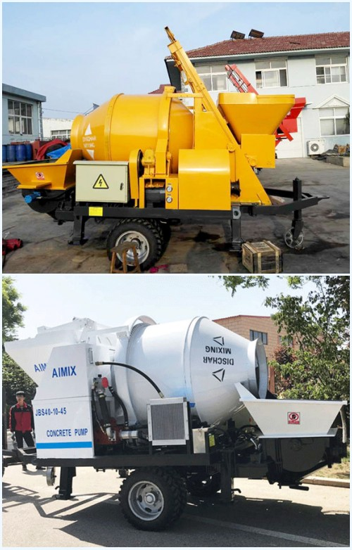 Small Concrete Pump For Sale - Small Investment And Fast Return