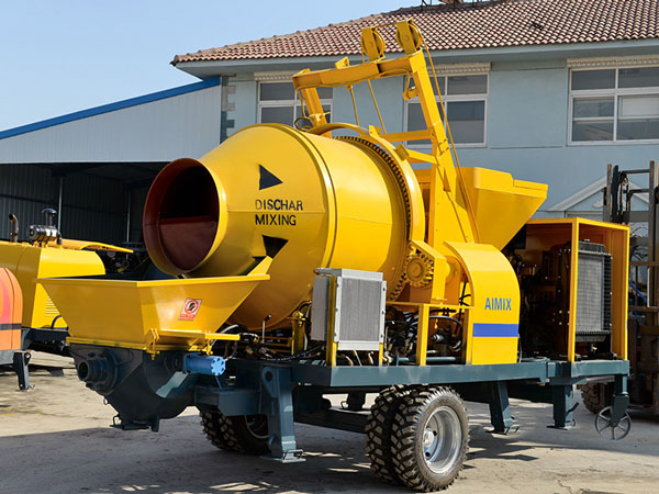 ABJZ30C mini concrete mixer pump